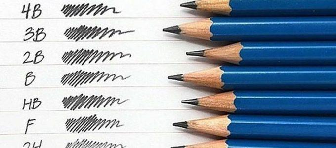 סוגי עפרונות