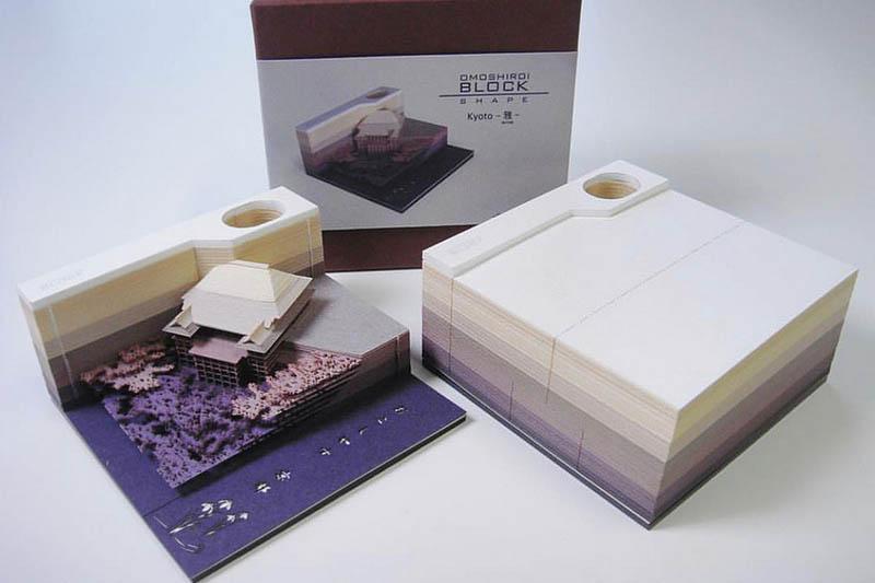 בלוק ניירות ממו אומושיראי