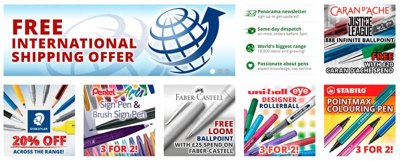 עטים משלוח חינם