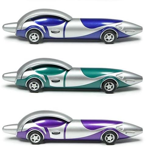 עטים בצורת מכונית