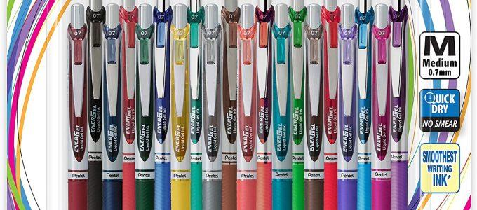 עטי אנרג'ל צבעוניים
