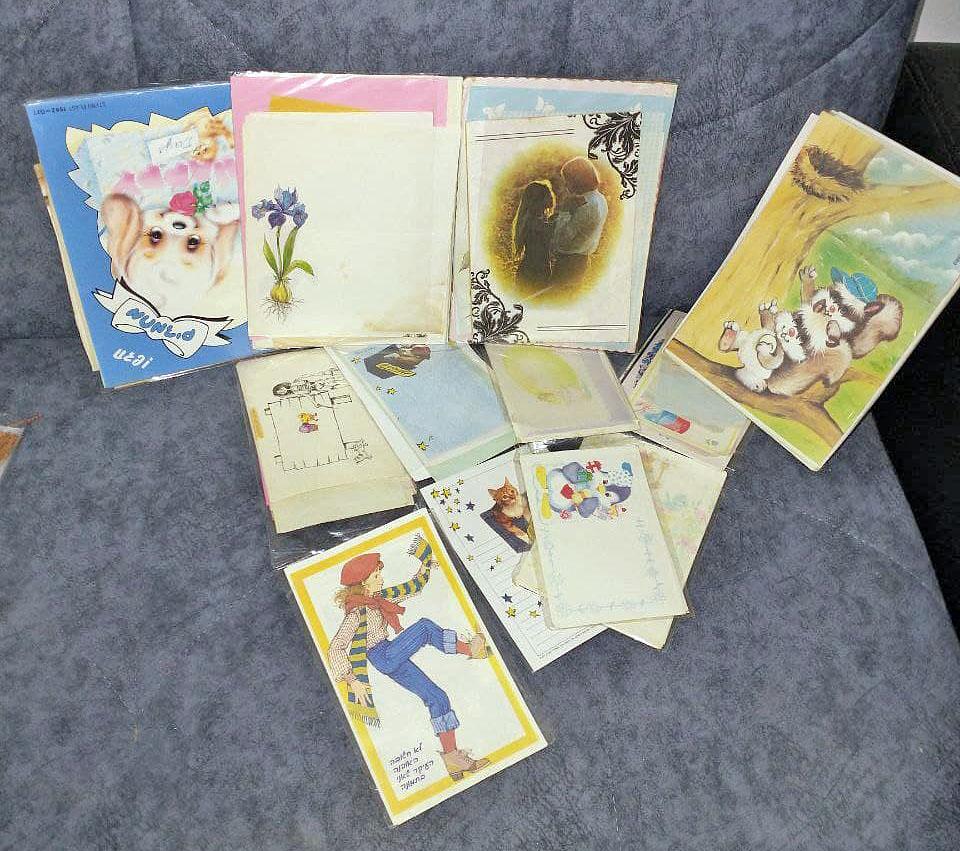 מכתביות וינטג' שנות השמונים